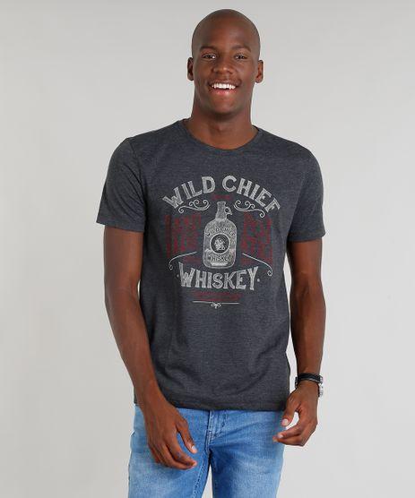 Camiseta-Masculina--Whiskey--Manga-Curta-Gola-Careca-Cinza-Mescla-Escuro-9265808-Cinza_Mescla_Escuro_1