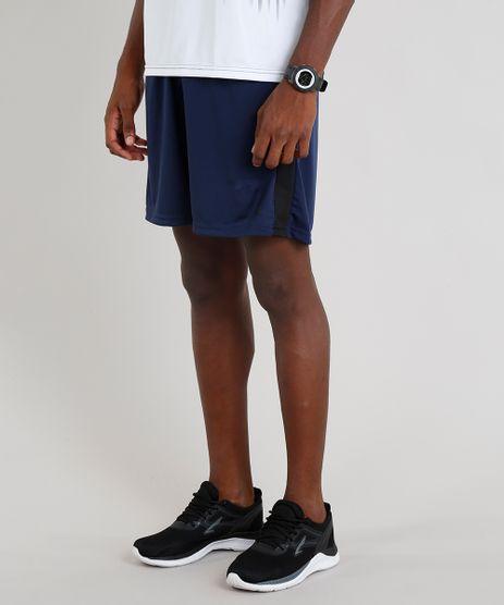 Short-Masculino-Esportivo-de-Futebol-com-Faixas-Laterais-Azul-Marinho-9295179-Azul_Marinho_1_1