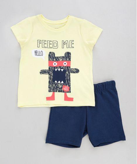 b7edac3f0f Conjunto Infantil de Camiseta