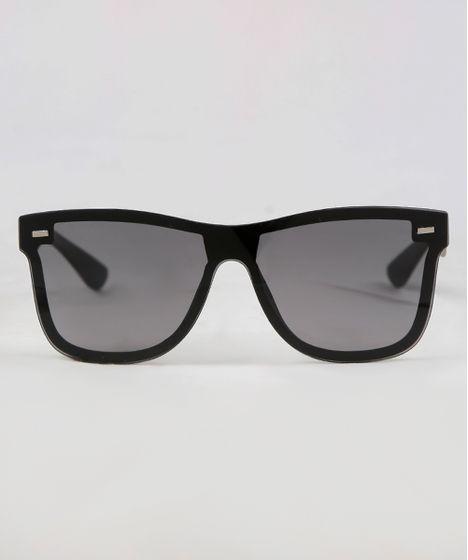 Óculos de Sol Quadrado Masculino Oneself Preto - cea cfb2e17b30