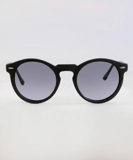 Tag  Oculos De Sol Redondo Preto Masculino c86eda7958