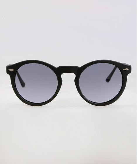 ad34a2d48 Oculos-de-Sol-Redondo-Masculino-Oneself-Preto-9351167- ...