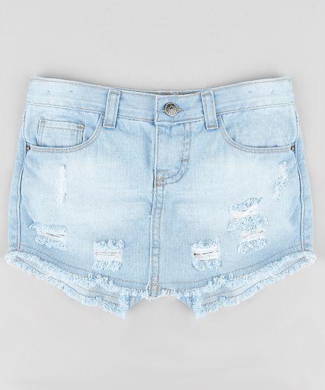 Short-Saia-Jeans-Infantil-Destroyed-com-Bolsos-Azul-Claro-9285286-Azul_Claro_1