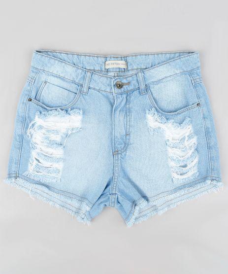 Short-Jeans-Infantil-Destroyed-Azul-Claro-8749937-Azul_Claro_1