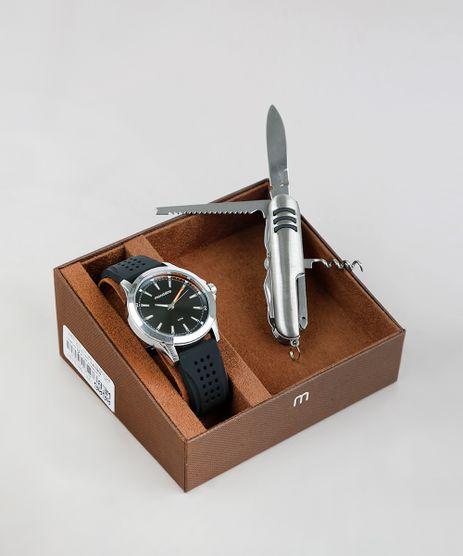 Kit-de-Relogio-Analogico-Mondaine-Masculino---Canivete---53667GPMVDS1K-Preto-9377664-Preto_1