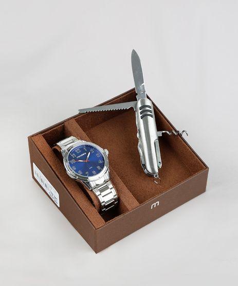 Kit-de-Relogio-Analogico-Mondaine-Masculino---Canivete---83437G0MVNE2K-Prateado-9377670-Prateado_1