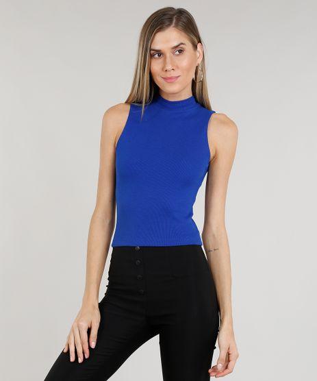 Regata-Feminina-Cropped-Gola-Alta-Basica-Canelada-Azul-Royal-8449098-Azul_Royal_1