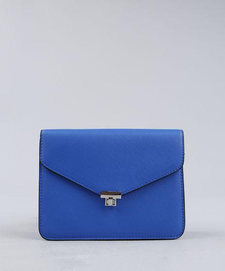 Bolsa-Feminina-Transversal-com-Corrente-Azul-Royal-9227656-Azul_Royal_1