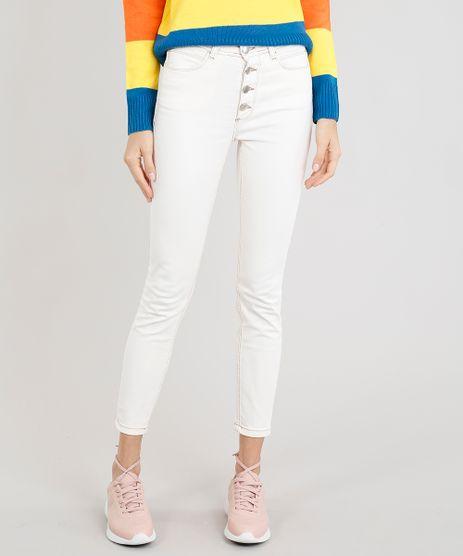 Calca-Jeans-Feminina-Skinny-com-Botoes-Off-White-9263424-Off_White_1