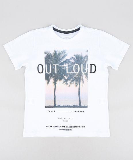 Camiseta-Infantil-com-Estampa-de-Coqueiros-Manga-Curta-Gola-Careca-Branca-9316375-Branco_1