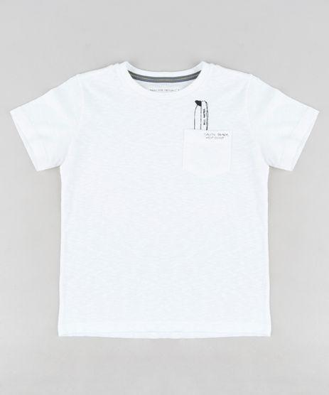 Camiseta-Infantil-com-Estampa-de-Prancha-no-Bolso-Manga-Curta-Gola-Careca-Off-White-9313689-Off_White_1