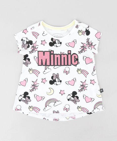 Blusa-Infantil-Estampada-Minnie-Manga-Curta-Decote-Redondo-Off-White-9313330-Off_White_1