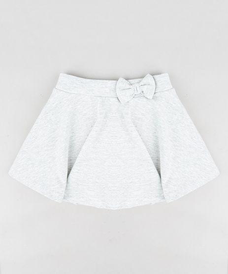 Short-Saia-Infantil-com-Laco-Cinza-Mescla-Claro-9319111-Cinza_Mescla_Claro_1