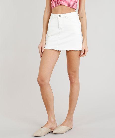 Saia-Jeans-Feminina-Curta-com-Barra-Desfiada-Off-White-9263429-Off_White_1