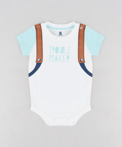 Body-Infantil-com-Estampa-Interativa--Trouble-Maker--Manga-Curta-Gola-Careca-Off-White-9123453-Off_White_1