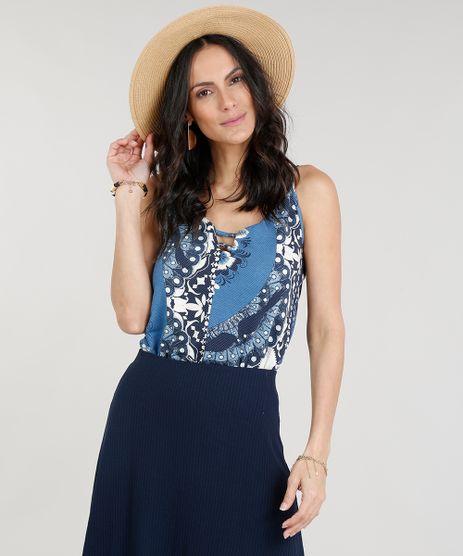 Body-Feminino-Estampado-de-Arabescos-com-Tiras-Alcas-Finas-Decote-V-Azul-9306140-Azul_1