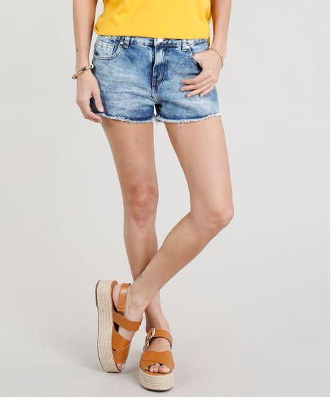 Short-Jeans-Feminino-Boyfriend-Barra-Desfiada-Azul-Claro-9340500-Azul_Claro_1