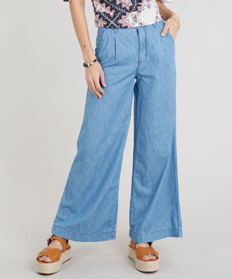 Calca-Jeans-Feminina-Pantalona-Cintura-Alta-Azul-Claro-9271815-Azul_Claro_1