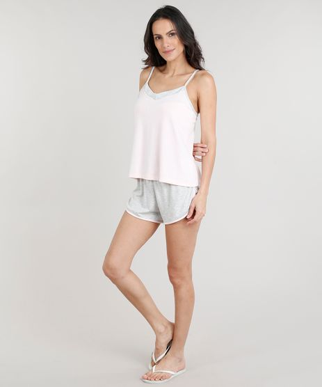 Short-Doll-Feminino-Estampado-de-Poa-Alcas-Finas-Rosa-Claro-9281241-Rosa_Claro_1