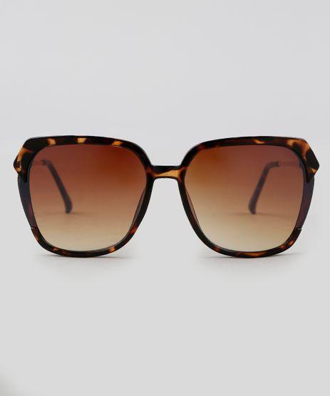 Oculos-de-Sol-Quadrado-Feminino-Oneself-Tartaruga-9351179-Tartaruga_1