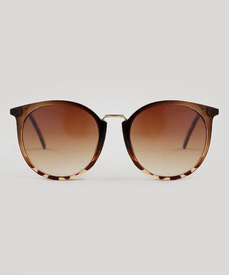 Oculos-de-Sol-Redondo-Feminino-Oneself-Tartaruga-9351273-Tartaruga_1