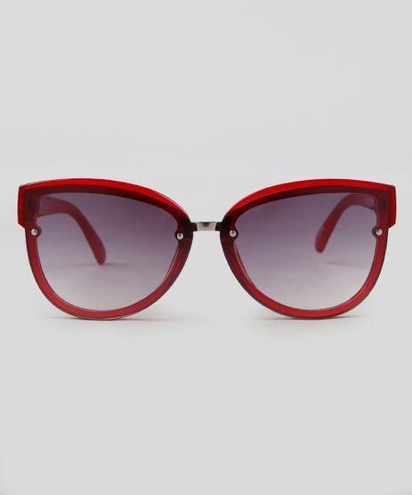 Oculos-de-Sol-Redondo-Feminino-Oneself-Vermelho-9351194-Vermelho_1