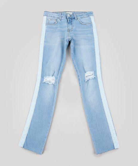 Calca-Jeans-Infantil-com-Faixa-Lateral-Azul-Claro-9239552-Azul_Claro_1