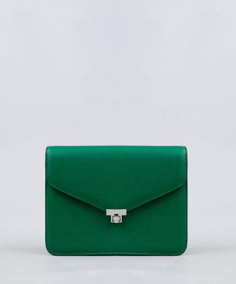 Bolsa-Feminina-Transversal-com-Corrente-Verde-9227656-Verde_1