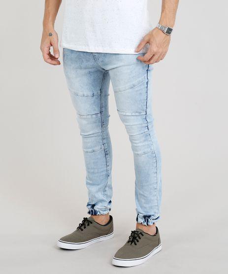 Calca-Jeans-Masculina-Jogger-Marmorizada-Azul-Claro-9328244-Azul_Claro_1