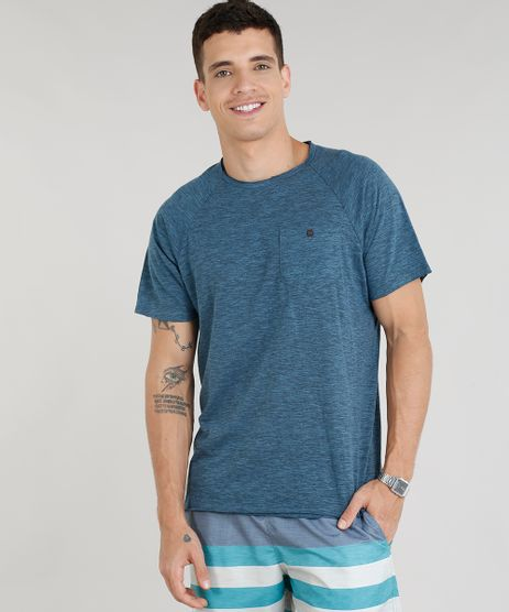 Camiseta-Masculina-com-Bolso-Manga-Curta-Gola-Careca-Azul-9268943-Azul_1