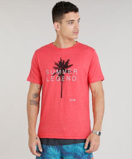Camiseta-Masculina--Summer-Legend--Manga-Curta-Gola-Careca-Vermelha-9297329-Vermelho_1