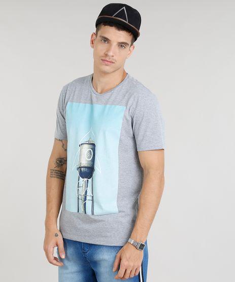Camiseta-Masculina-Foguete-Manga-Curta-Gola-Careca-Cinza-Mescla-9261220-Cinza_Mescla_1