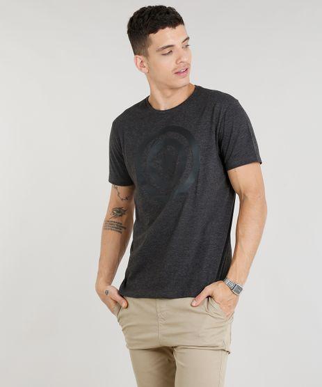 Camiseta-Masculina-Capitao-America-Manga-Curta-Gola-Careca-Cinza-Mescla-Escuro-9261241-Cinza_Mescla_Escuro_1
