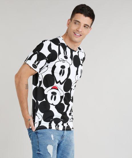 Camiseta-Masculina-Estampada-Mickey-Manga-Curta-Gola-Careca-Branca-9306836-Branco_1