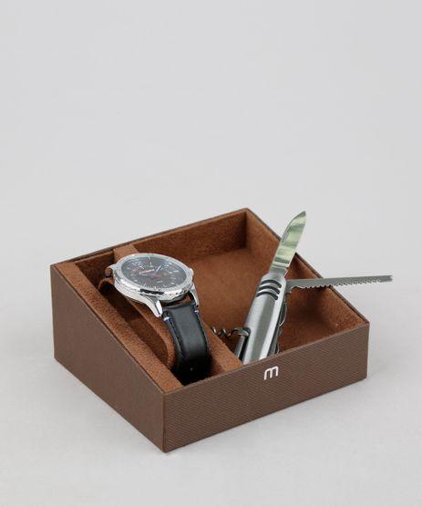 Kit-de-Relogio-Analogico-Mondaine-Masculino---Canivete---83390G0MVNH2K-Preto-9377628-Preto_1