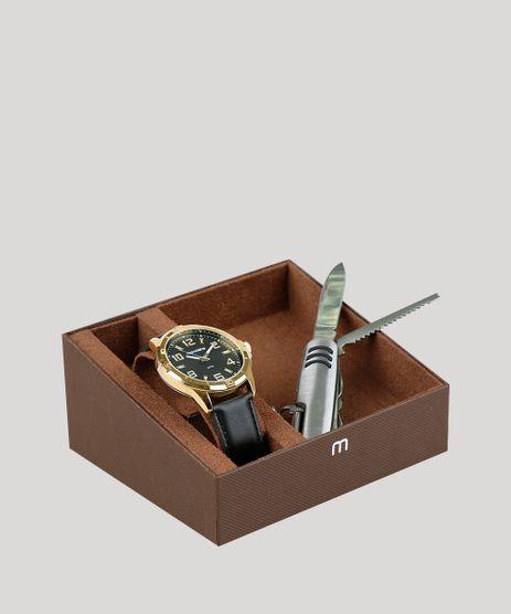 Kit-de-Relogio-Analogico-Mondaine-Masculino---Canivete---83450GPMVDH2K-Preto-9377625-Preto_1