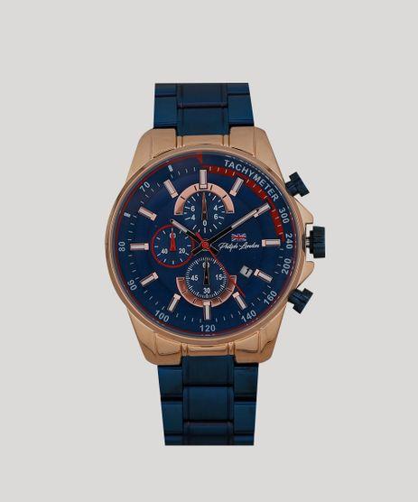 Relogio-Cronografo-Philiph-London-Masculino---PL80042613M-Azul-9262258-Azul_1