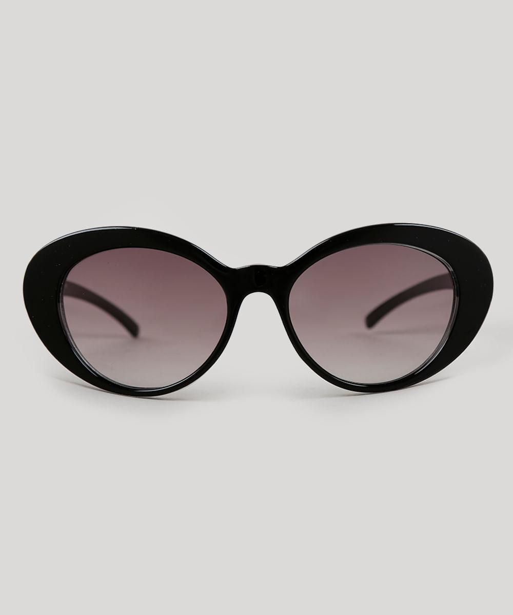 142756e574f2e Óculos de Sol Gatinho Feminino Oneself Preto - ceacollections