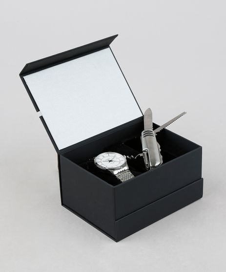 Kit-de-Relogio-Analogico-Orient-Masculino---Canivete---MBSS1272-KD31S2SX-Prateado-9374260-Prateado_1