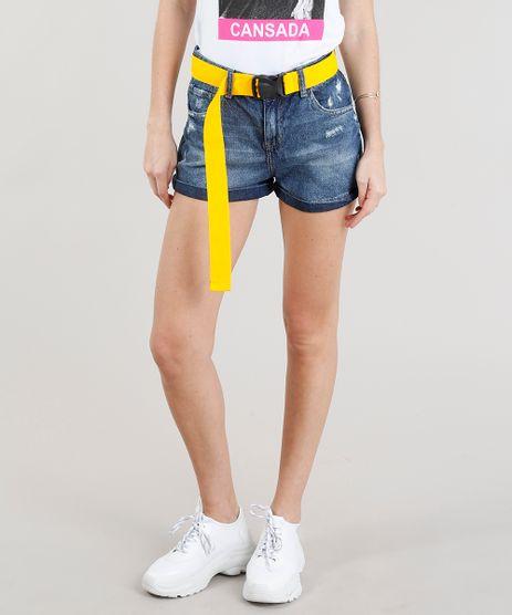 Short-Jeans-Mom-com-Cinto-Esportivo-Azul-Escuro-9346411-Azul_Escuro_1
