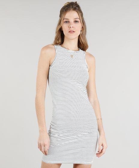 Vestido-Feminino-Curto-Listrado-Off-White-9333366-Off_White_1