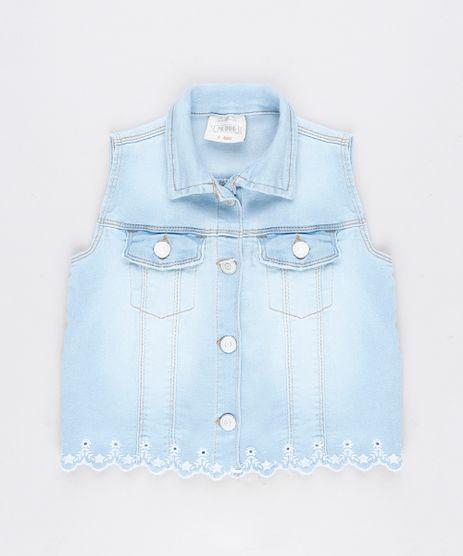 Colete-Jeans-Infantil-com-Bordado--Azul-Claro-9305332-Azul_Claro_1