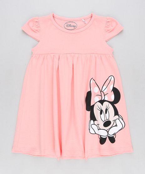 Vestido-Infantil-Minnie-Manga-Curta-Decote-Redondo-Rosa-9360966-Rosa_1