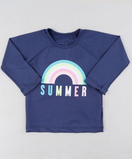 Blusa-de-Praia-Infantil--Summer--Manga-Longa-com-Protecao-UV50--Azul-Marinho-9280917-Azul_Marinho_1