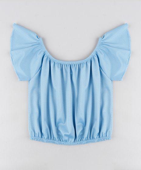 Blusa-Infantil-Ciganinha-Manga-Curta-Azul-Claro-9307580-Azul_Claro_1