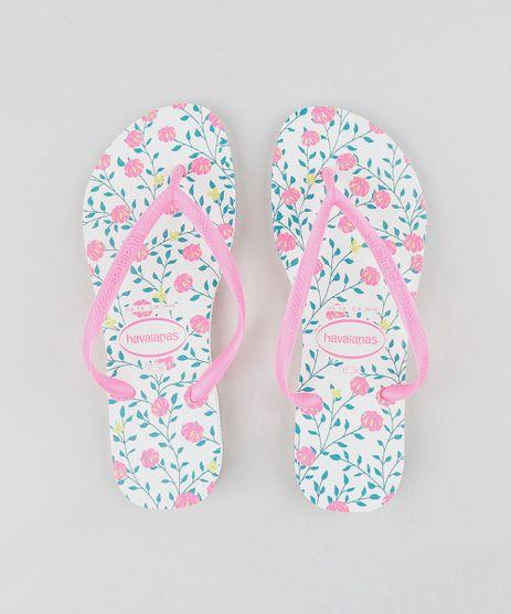 Chinelo-Havaianas-Feminino-Slim-Estampado-Floral-Branco-9297181-Branco_1