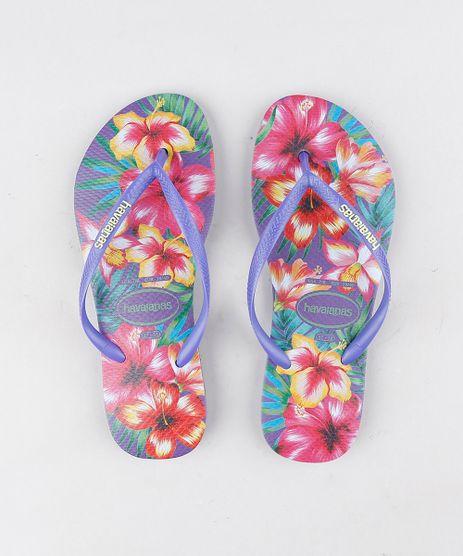 Chinelo-Havaianas-Feminino-Slim-Estampado-Floral-Roxo-9316051-Roxo_1