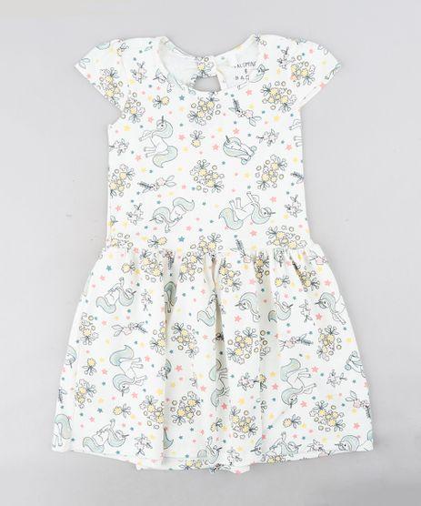 Vestido-Infantil-Estampado-de-Unicornios-Manga-Curta-Decote-Redondo-Off-White-9304650-Off_White_1