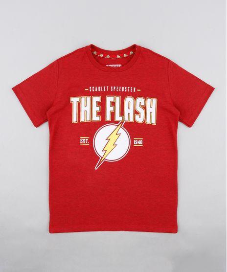 Camiseta-Infantil-The-Flash-Manga-Curta-Gola-Careca-Vermelha-9329024-Vermelho_1