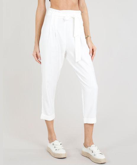 Calca-Clochard-Feminina-com-Faixa-de-Amarrar-Off-White-9251547-Off_White_1